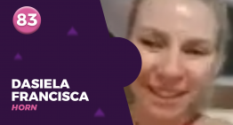 83 – DASIELA FRANCISCA HORN